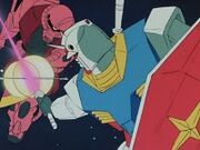 X5 Char and Amuro fight