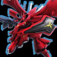 Gundam Diorama Front 3rd MSN-04II Nightingale