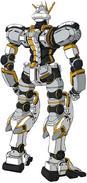 RX-78AL Gundam Atlas Back