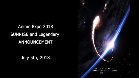 Sunrise Panel Gundam Long 2018AX