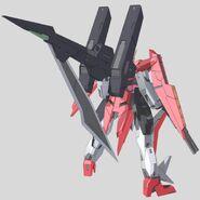 GN-007AL Arios Gundam Ascalon Back