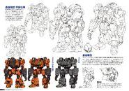 Gundam The Origin Mechanical Work Mobile Worker Model 01 Final Type