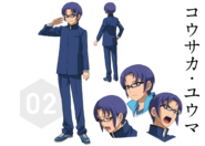Yuuma Kousaka Character Sheet