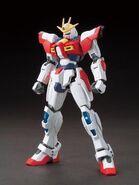 BG-011B Build Burning Gundam (Gunpla) (Front)