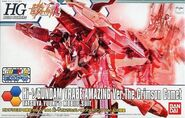 HGBF Hi-ν Gundam Vrabe Amazing Ver. The Crimson Comet