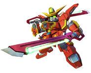 SD Gundam G Generation Crossrays Gundam Sword Calamity