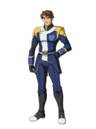 G Gen Cross Rays Custom Character (Male Gjallarhorn Uniform)
