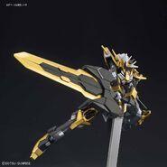 NK-13S Gundam Schwarzritter (Gunpla) (Action Pose)