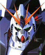 Nu Gundam Head Illust 2
