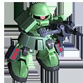 Unit cr zaku ii magella cannon