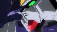 Build Gundam Mk-II Face Close-Up