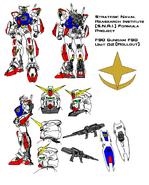 F90 Gundam F90 Unit 02 (Rollout)