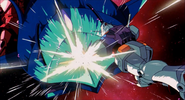 Gundam destroys Elmeth (CCA Version)