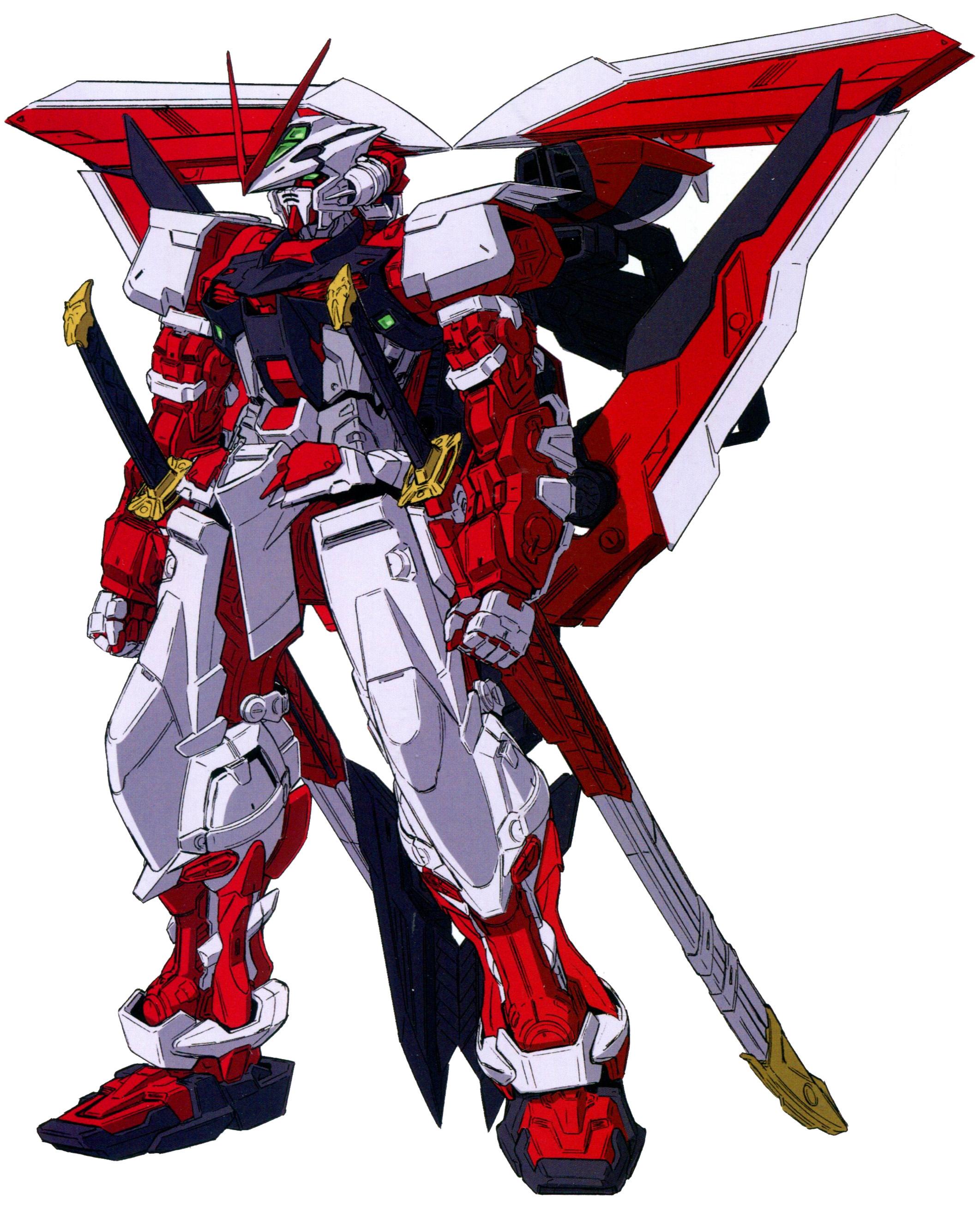 MBF P02Kai Gundam Astray Red Frame Kai