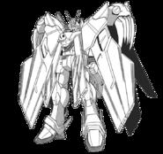 XM-X0 Crossbone Gundam X-0 Full Cloth Front