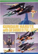 Gundam Harute with GN Sword IV Full Saber 1