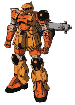 Zaku I Thunderbolt Front