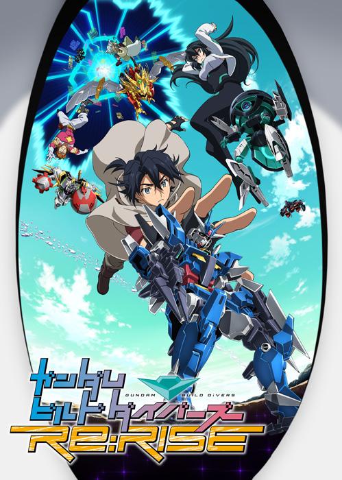 Kết quả hình ảnh cho Gundam Build Divers Re:RISE