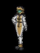 G Gen Cross Rays Custom Character (Female Tekkadan Pilot with Helmet)