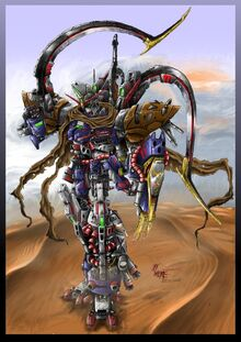 Gundam Sandrock ZG by WEREsandrock