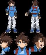 Riku Mikami GBDR character sheet