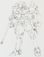 Tallgeese Mg Lineart