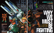 Victory Gundam Newtype why must we be fighiting