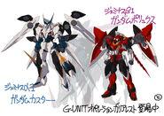 GundamCaster GundamPollux tokita