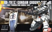 HGUC RX-79 G Gundam Ground Type Boxart
