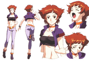 Character Sheet Kisato Yamabuki