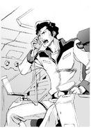 Noa in manga Mobile Suit Gundam UC Bright Noa Story
