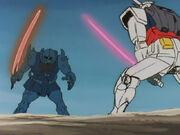 04 Gouf vs Gundam