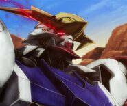 Gundam Barbatos Lupus without Alaya-Vijnana System's safety limiter