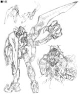 Gundam The End Junya Ishigaki Early Design 6
