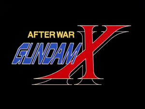 After War Gundam X title