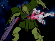 GM Command kills Zaku