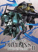 Mobile Suit Gundam IRON-BLOODED ORPHANS 2ND BD Vol.3