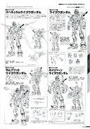 Raigo Gundam Lineart