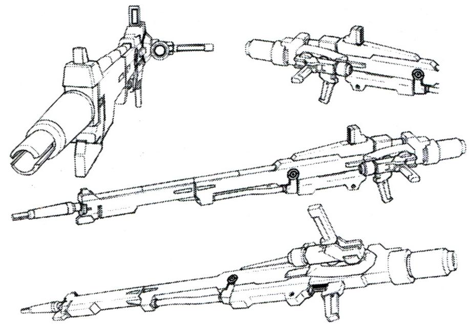 Gundam For The Barrel: Lightning Gundam Beam Rifle (Long Barrel) Details