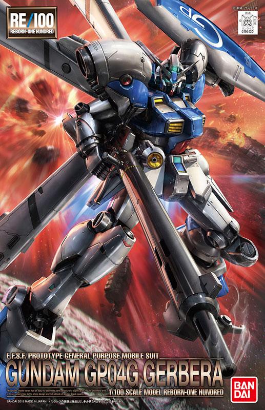 2016 SUMMER Limited RE 1//100 Gundam Prototype 4 Unit Gerbera Clear Color Ver