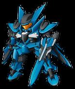 Super Robot Wars Z3 Tengoku Hen Mecha Sprite GNX-903VW Brave (Commander Test Type)