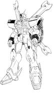 XM-X1 Crossbone Gundam X-1 Patchwork Front Manga