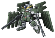 Super Robot Wars Z3 Tengoku Hen Mecha Sprite GN-010 Gundam Zabanya FM