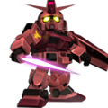 Unit br gundam char custom