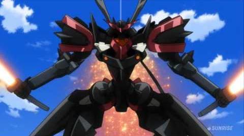 109 GNX-Y901TW Susanowo GNX-U02X Masurao (from Mobile Suit Gundam 00)