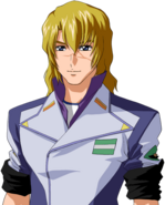 Super Robot Wars T Character Face Portrait 444