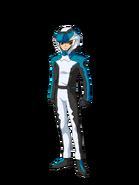 G Gen Cross Rays Custom Character (Male EA Pilot with Helmet)