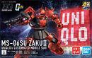 HGUC Zaku II -UNIQLO-