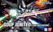 HG GOUF Ignited (Yzak Jule Custom) Cover