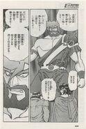 Marcelot Cronos in manga